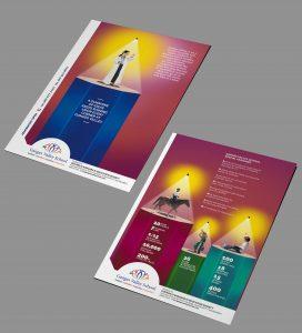 Ganges Valley School Flyer Design